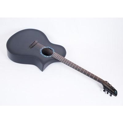 Composite Acoustics GX ELE Gloss Carbon Burst Narrow Neck With Fishman Prefix Plus T Electronics - Contact us for ETA