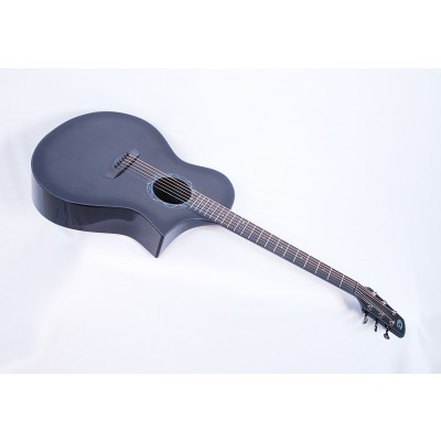 Composite Acoustics GX ELE Gloss Carbon Burst With Fishman Prefix Plus T Electronics #11213