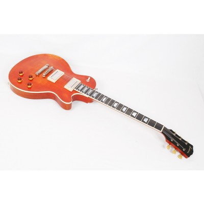 Eastman SB59/V-AMB Antique Amber Varnish Solid Body With Case - Contact us for ETA