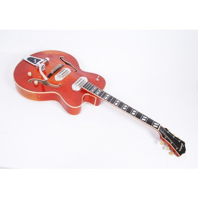 Eastman T58/V-AMB Thinline in Antique Amber Varnish Finish #50367