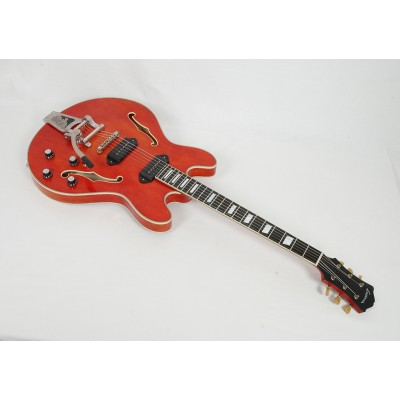 Eastman T64/V-AMB Antique Amber Varnish With Bigsby #02054