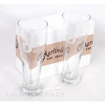 Martin 23oz Ale Glass Set with D35 Logo