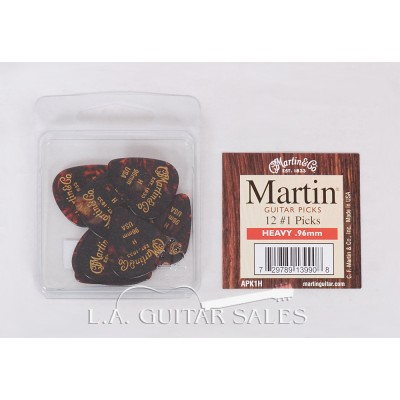 Martin Guitars APK1H Heavy Guitar Picks