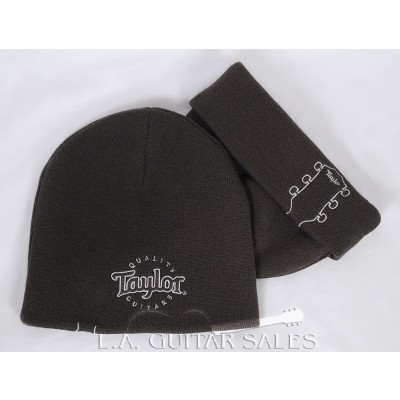 Official Taylor Guitars Reversible Beanie, Brown