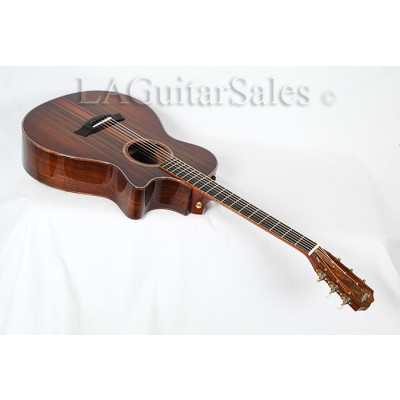 Taylor Custom 12-Fret Grand Concert / Grafted Walnut / Sinker Redwood / Koa Binding / ES2 Electronics s/n 1104244142