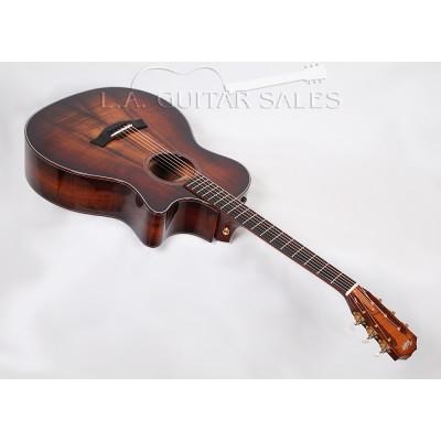 Taylor Guitars Custom 12-Fret Grand Auditorium / AA Koa / Venetian Cutaway / ES2 Electronics #35164