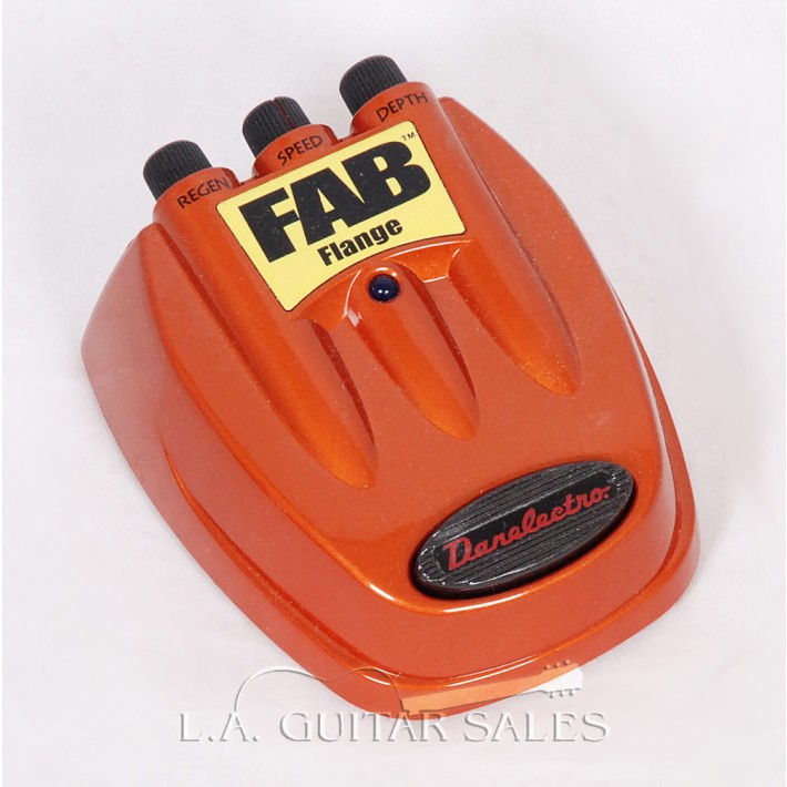 Danelectro FAB Flange Effects Pedal