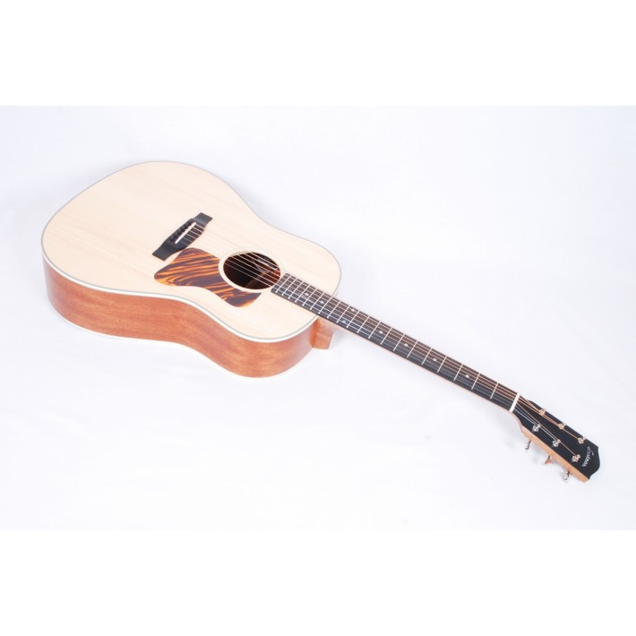 Eastman E1SS-LTD Natural Solid Adirondack Sapele Slope Shoulder Dreadnought With Fishan Soniton Electronics #122/250