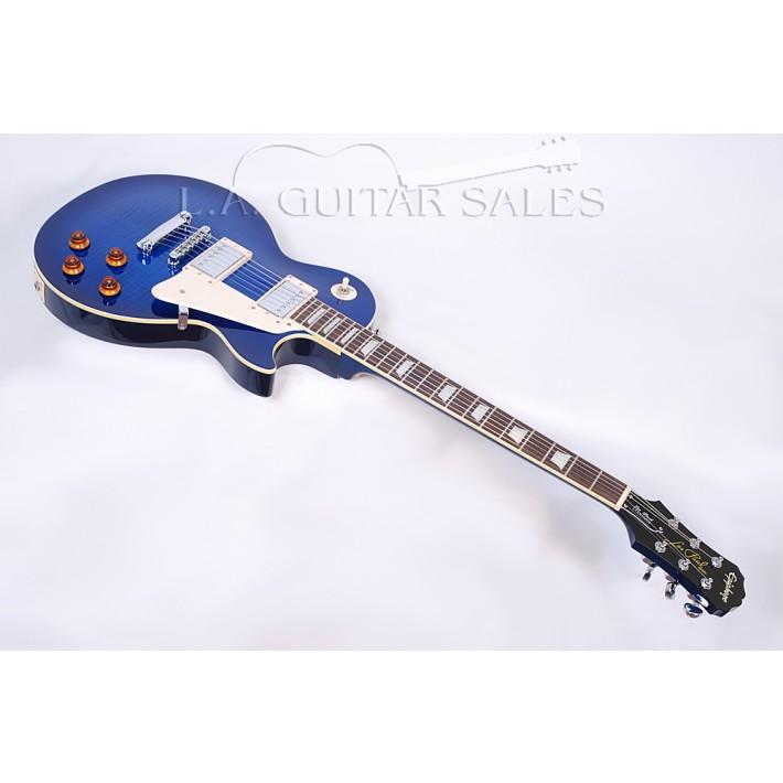 Epiphone Les Paul Standard Plus Top Translucent Blue