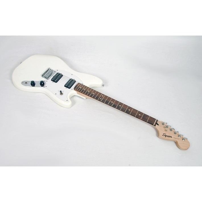 Squier by Fender Bullet Mustang HH Limited-Edition Electric Guitar  Olympic White