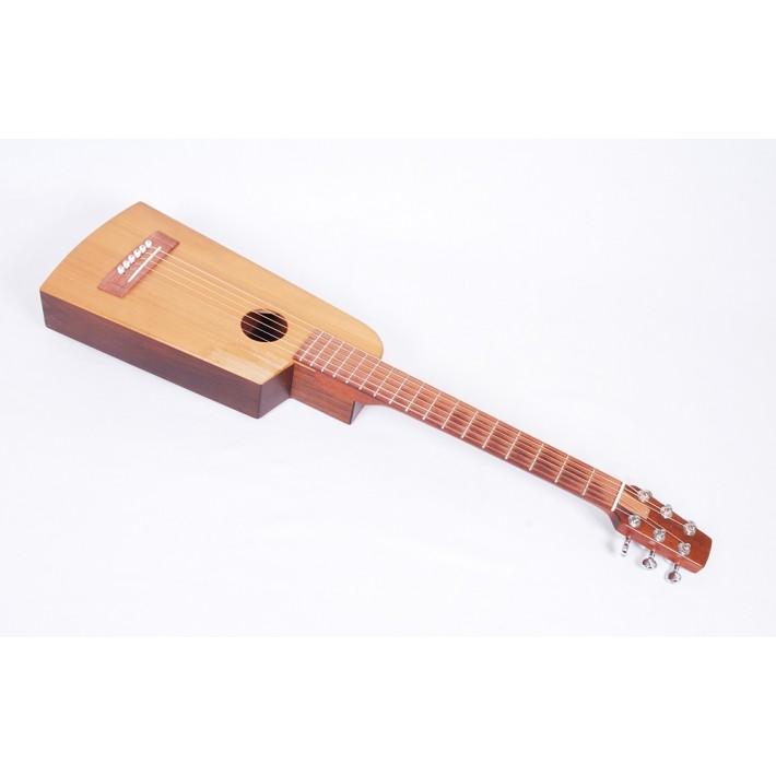 Go Guitars Go Grande Mahogany/Spruce Travel Guitar With Go Puffy Bag