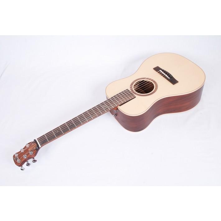 Journey Instruments *Left Handed* OF420L  Overhead Sitka/Rosewood Travel Guitar