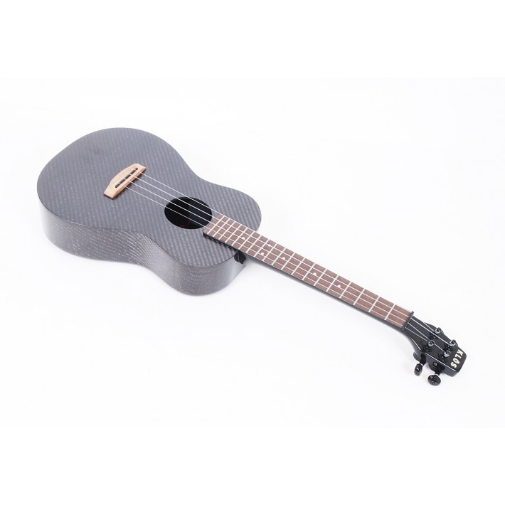 KLOS  Deluxe Acoustic Electric Ukulele With Gig Bag And Accessories
