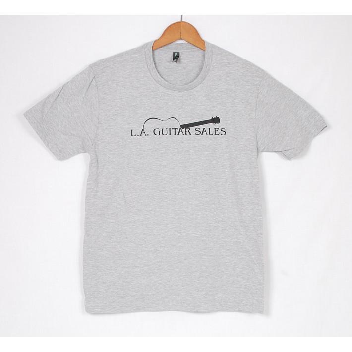 LA Guitar Sales Logo Tee Shirt Grey