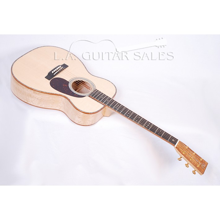 "Martin CS-00-42 Birdseye Maple ""Mini Clapton"" With Koa Binding #67564"
