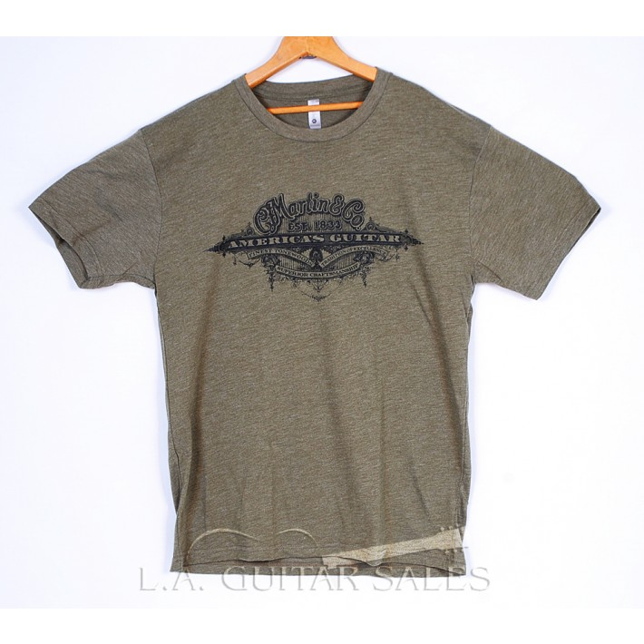 Martin 18CM0107 America's Guitar Tee Shirt