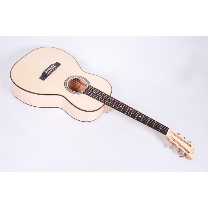 Martin Custom Shop, Size 00 12 Fret European Flamed Maple Premium Adirondack Top and Rosewood Binding #84599