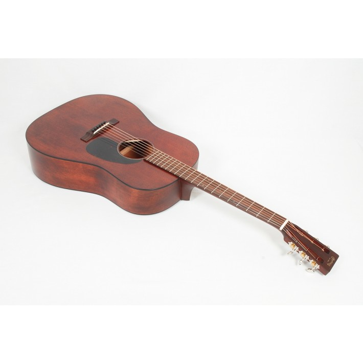 Martin Custom Size D 15S Style All Mahogany 12-Fret Dreadnought With Tortoise Binding #01524