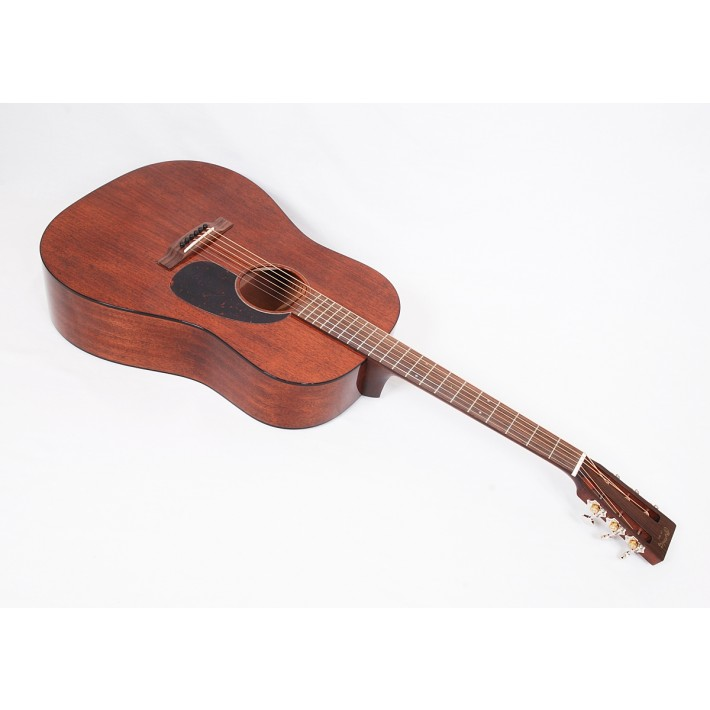 Martin Custom Size D 15S Style All Mahogany 12-Fret Dreadnought With Tortoise Binding and Gloss Finish #79483