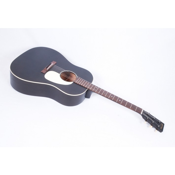 Martin DSS-17 Black Smoke Slope Shoulder Dreadnought - #2258950