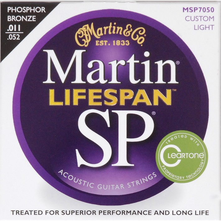 Martin Martin SP Lifespan 92/8 Phosphor Bronze Custom Light / MSP7050