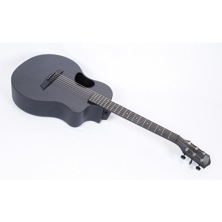 McPherson Touring Carbon Fiber Travel Guitar With Black Binding & Electronics