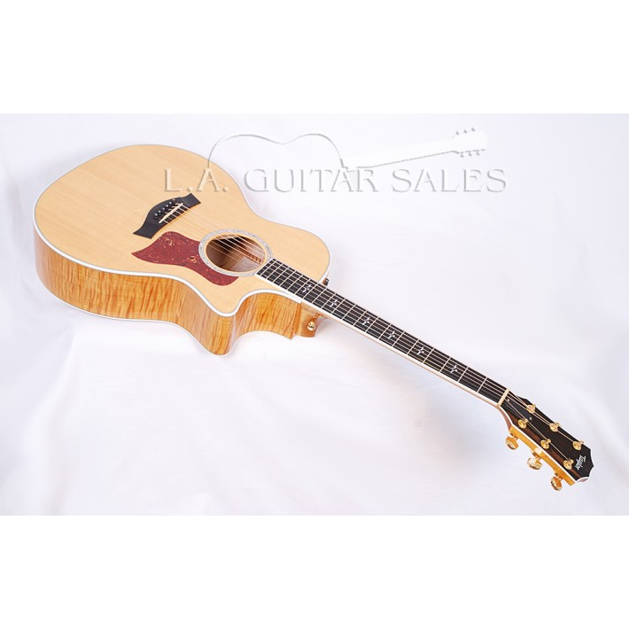 Taylor Guitars 2005 614ce Flamed Maple Spruce Grand Auditorium (GA) with ES Electronics