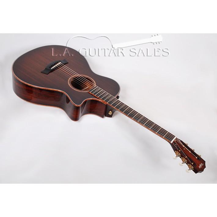 Taylor Guitars Custom 12-Fret Grand Concert / Cocobolo / Sinker Redwood / Koa Binding / Adirondack Bracing / ES2 Electronics - s/n 1112024133