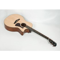 Eastman AC222CE-OV Solid Ovangkol / Spruce Grand Auditorium with Fishman Electronics and Gig Bag #00340