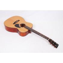 Eastman E10OM-TC Solid Mahogany & Thermo Cured (torrified) Adirondack Orchestra Model #55150