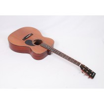 Eastman E2OM-CD Solid Sapele Orchestra Model with Soft Case #56163