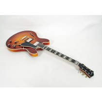 Eastman T486-GB Deluxe Thinline Hollowbody Goldburst #01061