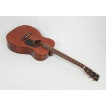 "Martin Custom, Size 00 15 Style Mahogany with 1-3/4"" nut Tortoise Binding Full Gloss Body #18994"