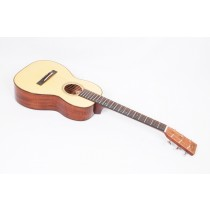 Martin Custom Size 5 Mini Terz Highly Flamed Tasmanian Blackwood and  Engelmann #06690