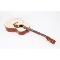 Martin Custom Size OM 42 Style Premium Madagascar / Adirondack / Full Hide Glue / Flamed Koa Binding #45510