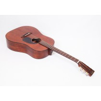 Martin Custom Size D 15S Style All Mahogany 12-Fret Dreadnought With Tortoise Binding #79481