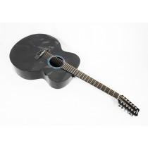 RainSong BI-JM3000 Black Ice Jumbo 12-String #198