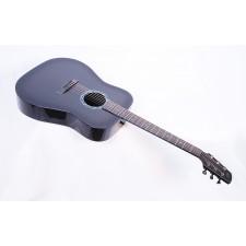 Composite Acoustics Legacy Gloss Carbon Burst With Fishman Prefix Plus T Electronics