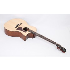 Eastman AC222CE-OV Solid Ovangkol / Spruce Grand Auditorium with Fishman Electronics and Gig Bag #55996