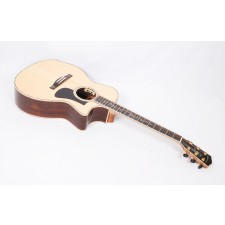 Eastman AC922CE Solid Engelman Spruce / Rosewood Grand Auditorium with Arm Bevel & LR Baggs Anthem #50649