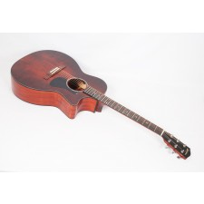 Eastman PCH1-GACE in Classic Finish Solid Sitka Spruce/Laminated Sapele Grand Auditorium with Eastman Pickup by Fishman #03179
