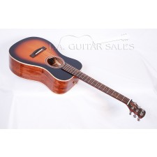 Journey Instruments All Solid Mahogany Spruce Overhead Travel Guitar Contact us for ETA