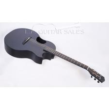 Kevin Michael Guitars by McPherson Carbon Fiber Sable w/Electronics (2016 Model Sale)