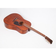 Martin Custom Size D 15S Style All Mahogany 12-Fret Dreadnought With Tortoise Binding and Gloss Finish #79485