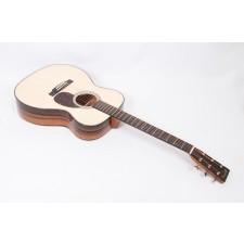 Martin Custom Size OM 28 Style European High Altitude Spruce / Macassar Ebony Orchestra Model #91267