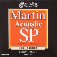 Martin SP 80/20 Bronze Light/Medium / MSP3150