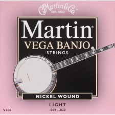 Martin Vega Banjo Light Gauge / V700