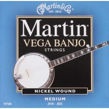 Martin Vega Banjo Medium Gauge / V730