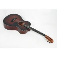 Taylor Guitars 322 12-Fret Mahogany Top X-Braced Grand Concert (GC) K&K Mini Electronics Gold Waverly Tuners #56072
