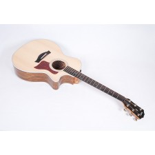 Taylor Guitars 414ce V-Class Ovangkol Spruce Grand Auditorium (GA) Cutaway with ES2 Electronics #48039